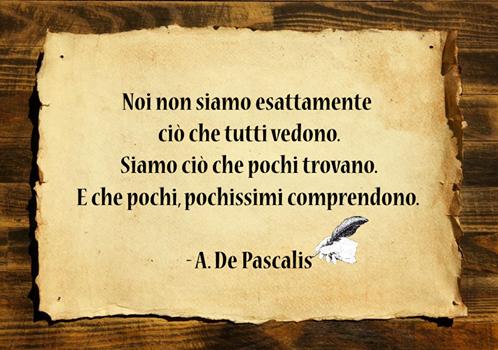 Frase di Angelo De Pascalis