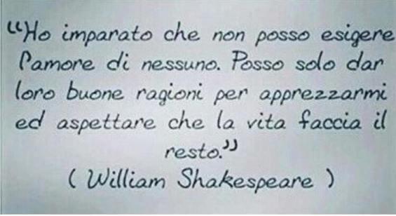 Frase di William Shakespeare