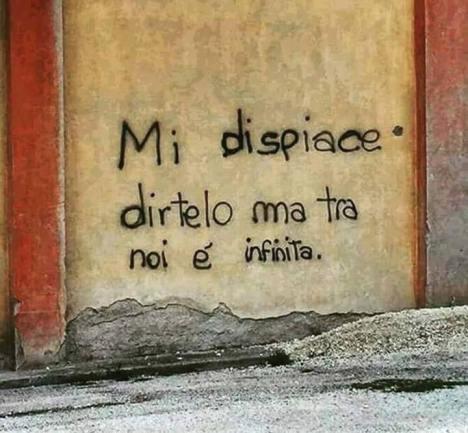 Amore matteopolettiblog - Frasi scritte sui muri di casa ...