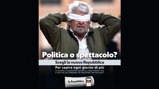 PoliticaSpettacoloRepubblicaBeppeGrillo