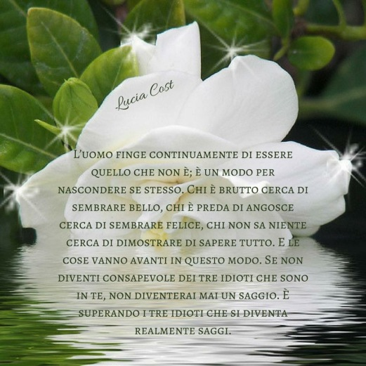 Frase di Lucia Cost pubblicata sul suo profilo Facebook